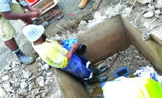 Authority Works To Restore Water Supply