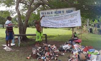 Clean-Up Campaign Sees 169.7kg Plastics Collected