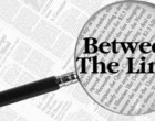 between the lines: 15th October, 2018