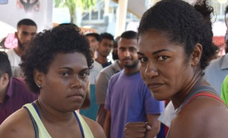 Women Boxers Ready To Rumble