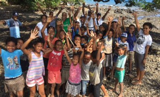 Children Heed Call in Clean up Campaign
