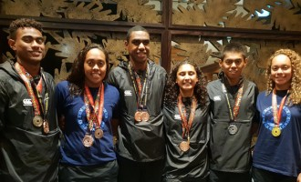 Fiji Swimmers Continue To Impress