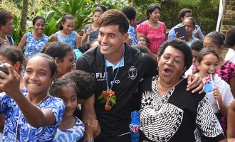 St Anne's Flying With Fijian Reps