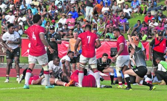 Tonga's 27-19 Victory, Fails To Stop Fiji's Title Win