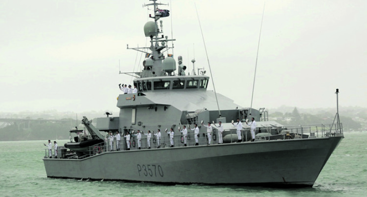 Naval Vessel Otago To Take Over EEZ Surveillance After Taupo
