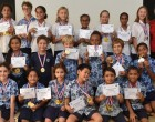 School Honours Swimmers' Achievements