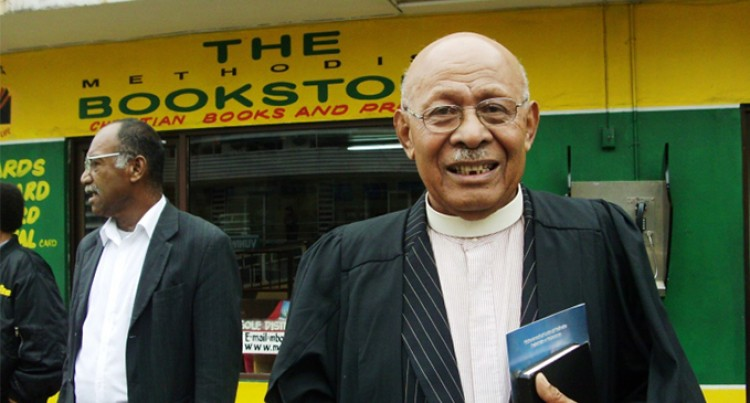 Former Methodist Church President Reverend Tomasi Kanailagi Dies