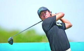 Golfer Lee Eyes Top Spot