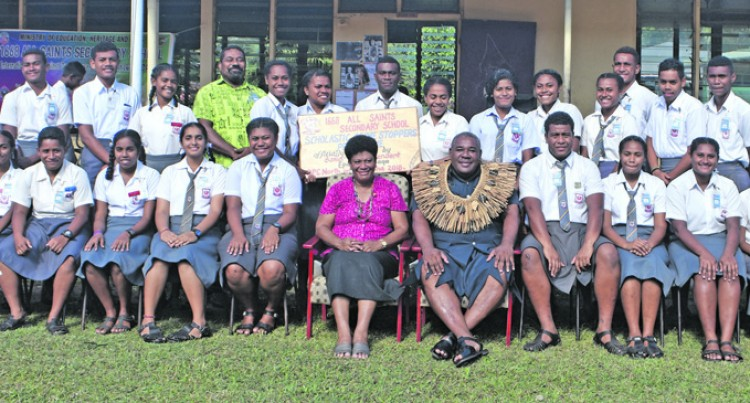 All Saints Joins Police  Scholastic Programme