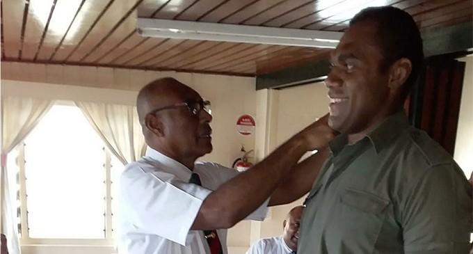Nakarawa Scores Lieutenant Pips
