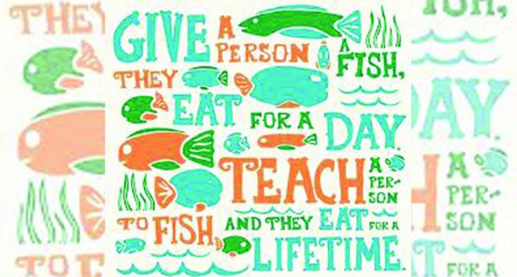 Opinion: It Is Better to Teach People to Fish Than to Give Them Fish