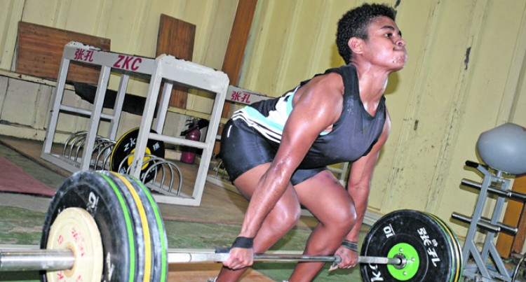 Former Volleyball Rep Turns To Weightlifting