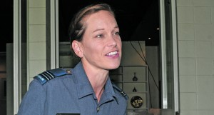 Flight Lieutenant of the Royal New Zealand Airforce Libby Reardon. Photo: Ronald Kumar