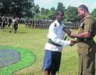 Natabua High School Headboy Takes Cadet Baton Of Honour