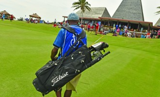 Caddies Carrying Fiji International