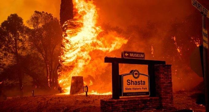 Fijian Embassy monitors raging wildfire
