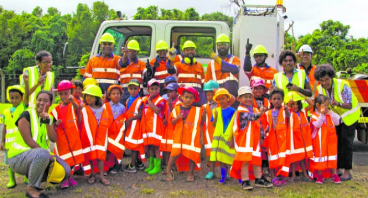 Bright Little Ones Learn About Safety