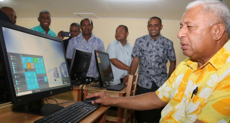 Computer Lab, Classroom Opens For Students In Cakaudrove