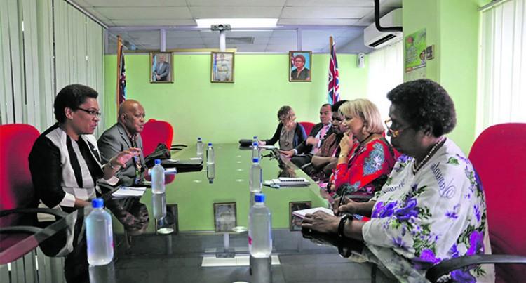 Ambassador Commends Minister Vuniwaqa's Role