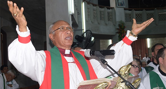 Archbishop Honoured At His Last Sermon