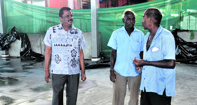 First phase of building Namaka market to be finished in August