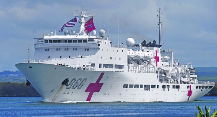 Chinese Naval Ship To Give Free Medical Services