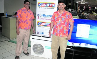 Six winners In Courts June draw