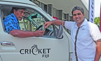 Two Vans For Cricket Fiji