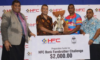 Bainimarama, Farebrother  Challenge Launch