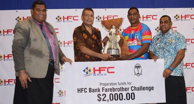 Bainimarama, Farebrother  Challenge Launch