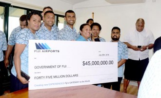 Fiji Airports Largest Dividend Payer To The Government