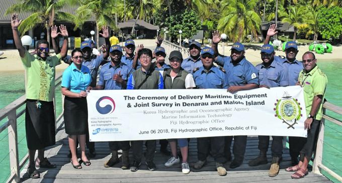 Joint Research Underway To Measure Denarau-Malolo Area