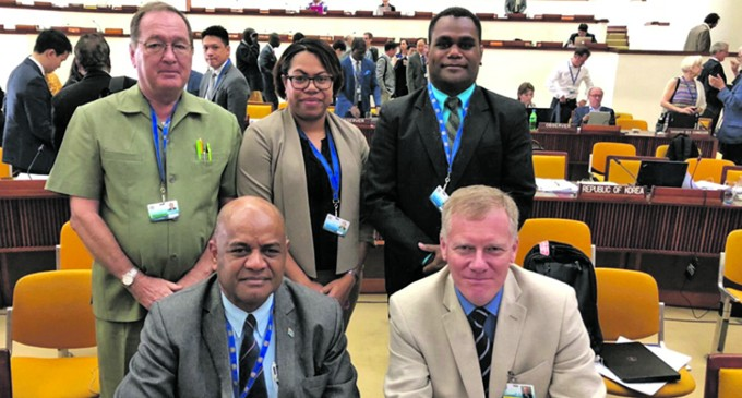 Fiji At Seabed Authority Meeting