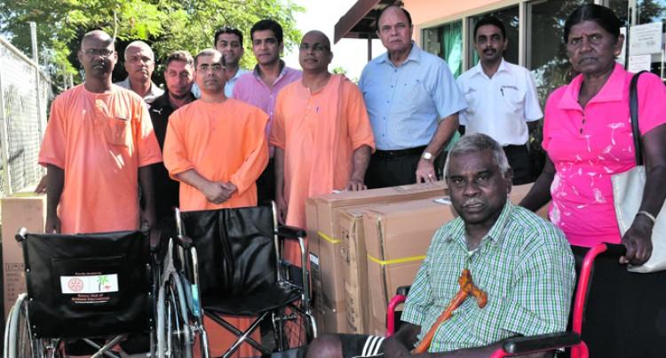 Ramakrishna, Rotary Help Sukendra, 71