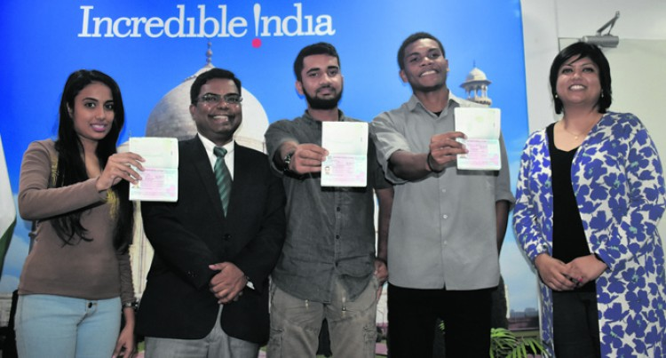 Four Fijians Bound For India