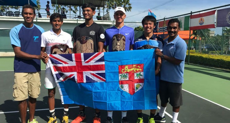 Top seeds Win South Pacific Junior Tennis Comp