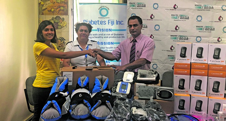 EqualMed Donates Equipment To Diabetes Fiji