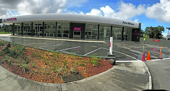 Asco Nabua (Suva) Showroom Opens Today
