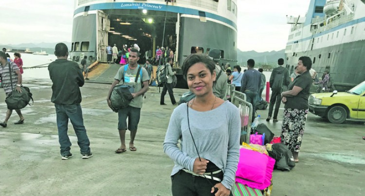 Rough Weather, Strong Waves Turn Lomaiviti Princess V Back To Savusavu