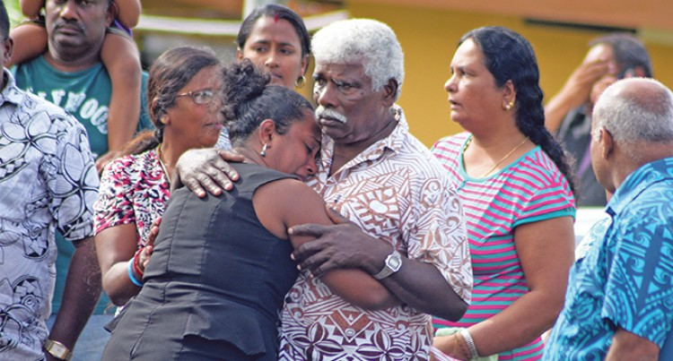 Relatives Watch In Pain As Body Pulled From River