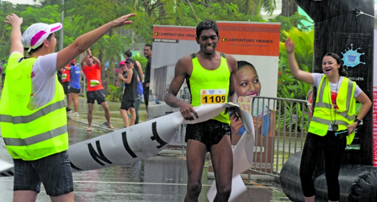 Narayan Wins Suva Marathon