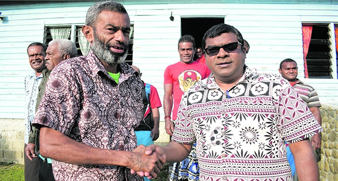 Reddy Brings Smiles To Beqa Islanders