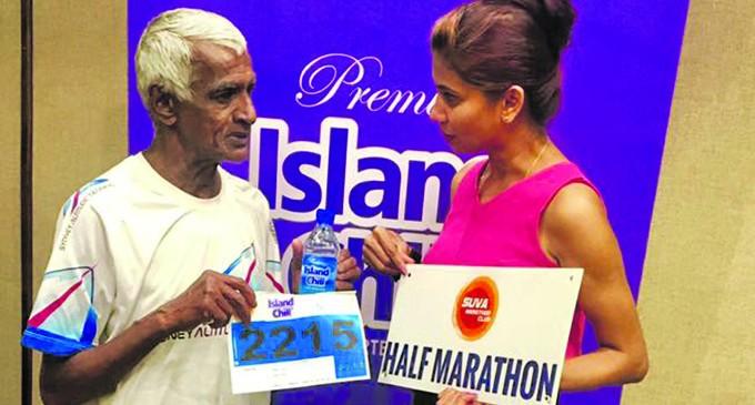Chand, 67, Still Running Strong