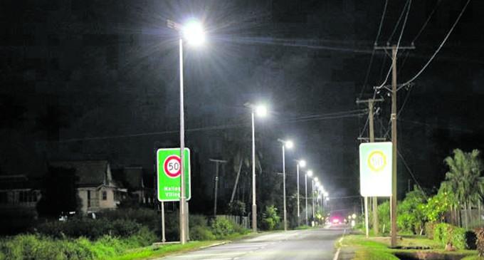 Solar Streetlights For Nailaga, Ba
