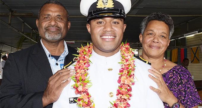 Rakoko Leaves Law Studies For Navy Career