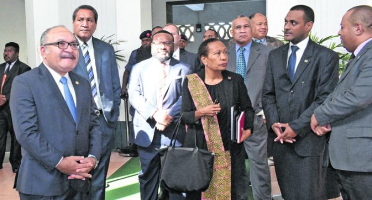 O'Neill Supports Fiji's Bid For UN Post