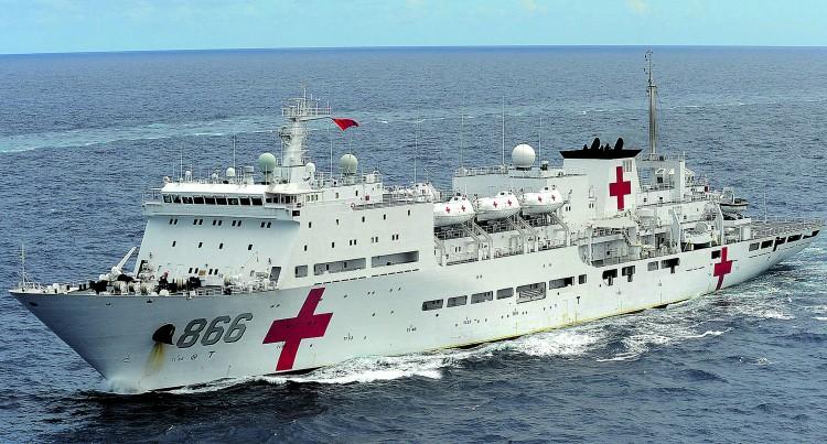 Teacher Praises Ship's Medical Staff