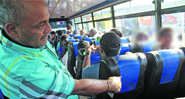 Bus Vandals Strike Again