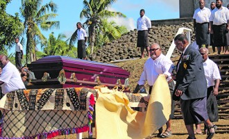 Farewell,  Ratu George