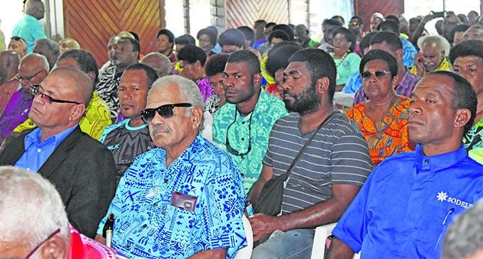 Big support For Rabuka, Tabuya At Meeting